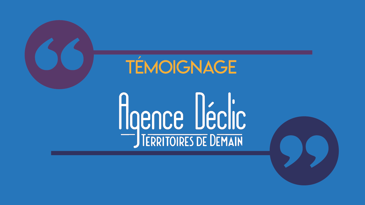 Témoignage agence déclic background